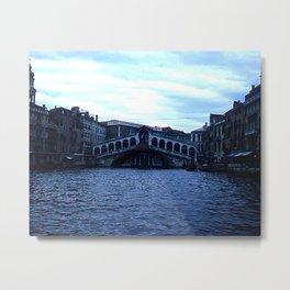 Rialto Bridge * 1950's * Italy * Kodachrome * Vintage Color Photo * Venice Metal Print