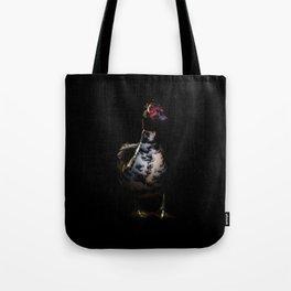 Muscovy Duck Portrait Tote Bag