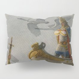 King Arthur and Excalibur Pillow Sham