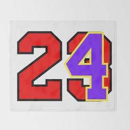 Vector 24>23 Throw Blanket
