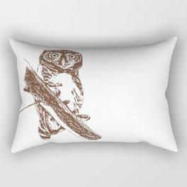 Forest Owlet Rectangular Pillow