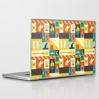 lotr Laptop & iPad Skins featuring King's Cross - Harry Potter by Ariel Wilson