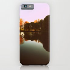 trees reflections iPhone 6s Slim Case