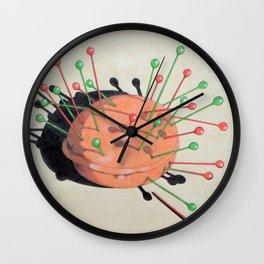 pincushion n. 1 Wall Clock