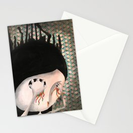 take your eyes out so you can see better Stationery Cards