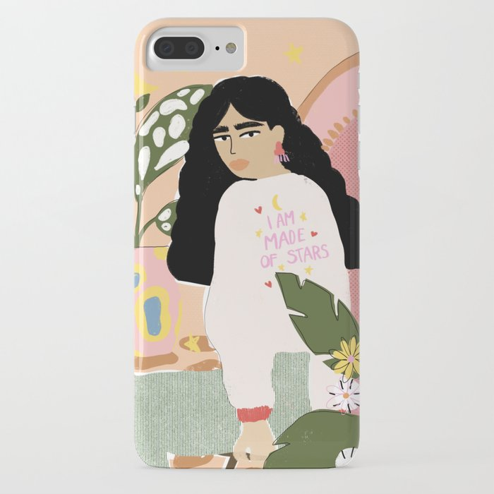 I am Made of Stars iPhone Case