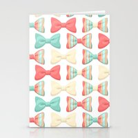bows Stationery Cards featuring bows by melazerg