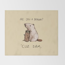 Dam Throw Blanket