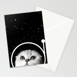 Thistle in Space Stationery Cards