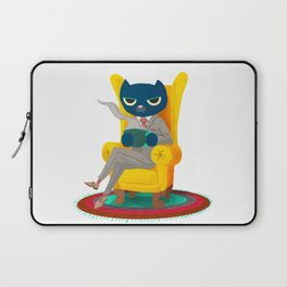 Welcome. Meow. Laptop Sleeve