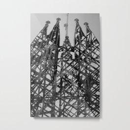 Sagrada Familia (Interior + Exterior), Barcelona Metal Print