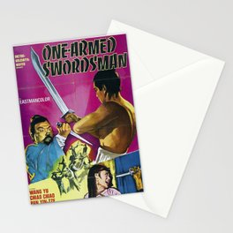 The One-Armed Swordsman Stationery Cards