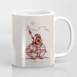 Nature Warriors: Battle Hedgehog Coffee Mug