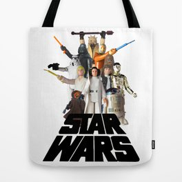 Star War Action Figures Poster Tote Bag