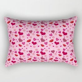 Candy and Kisses Rectangular Pillow