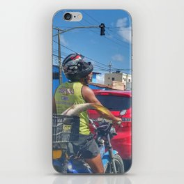 Just another day in Brazil iPhone Skin