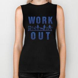 Work Out Biker Tank