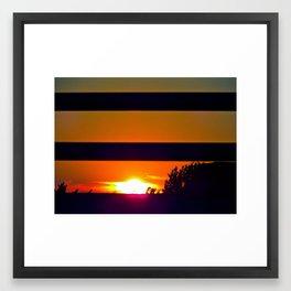 cali-ente Framed Art Print