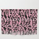 Pink and Black Dalmatian by ninamay