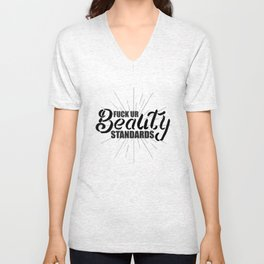 Fuck Ur Beauty Standards Unisex V-Neck