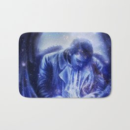 Angel in Blue Bath Mat