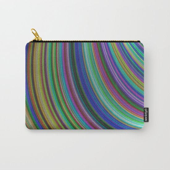 Striped fantasy Carry-All Pouch