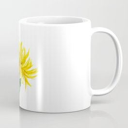 one yellow chrysanthemum Coffee Mug