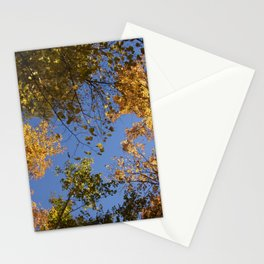 trees in the air Stationery Cards