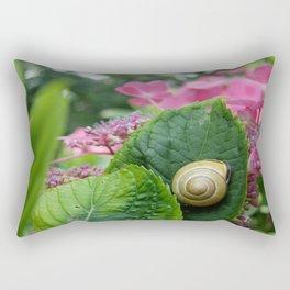 marcel the shell Rectangular Pillow