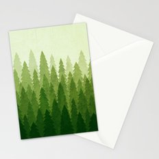 C1.3 Pine Gradient Stationery Cards