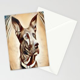 A Belgian Malinois Stationery Cards