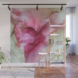 Fluid Rose Wall Mural