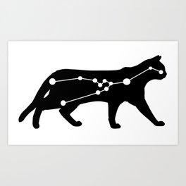 taurus cat Art Print