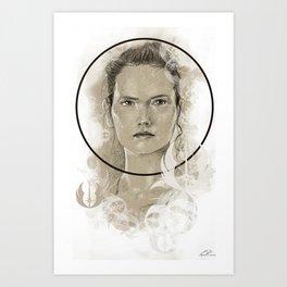 Rey design Art Print