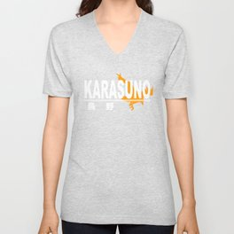 Karasuno High School Logo Unisex V-Neck