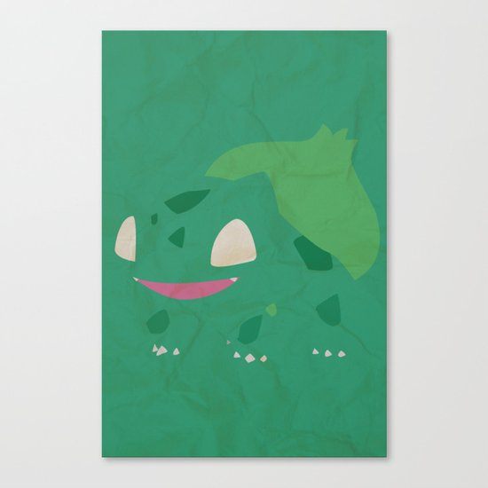 Bulbasaur Canvas Print