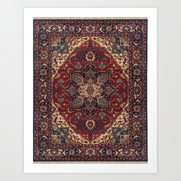 Oriental Rug  Art Print