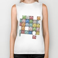balloons Biker Tanks featuring Balloons by Mary Kilbreath