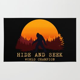 Bigfoot - Hide and Seek World Champion Rug