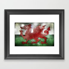 Wales - Cymru Framed Art Print