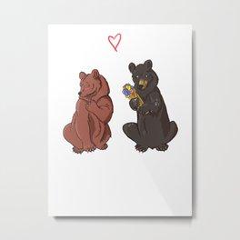 Be my Honey Bear Metal Print
