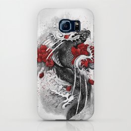 Black Koi iPhone Case