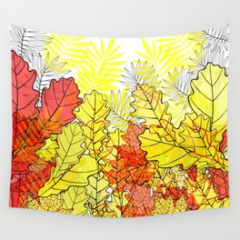 Gold autumn. Wall Tapestry