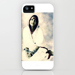 Sri Ma Anandamayi - Hindu Saint - for Blessings and Protection iPhone Case