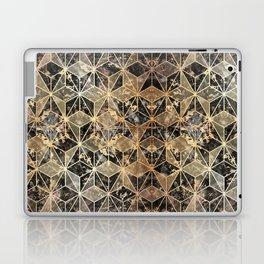 Gold Marble Geometric Laptop & iPad Skin