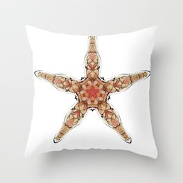 Fishtales: Starfish 5 Throw Pillow