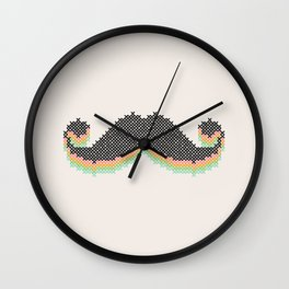 Mustitch Wall Clock