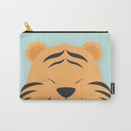 Tiger Smiles Carry-All Pouch