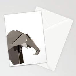 Flat Elephant Stationery Cards