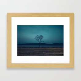 """TO COLD SPRING"" Framed Art Print"